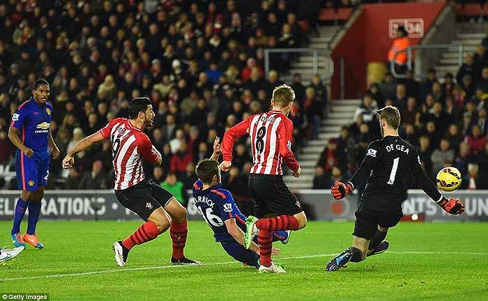 Thiếu chốt chặn đáng tin cậy, Man Utd bị thủng lưới ở phút 31
