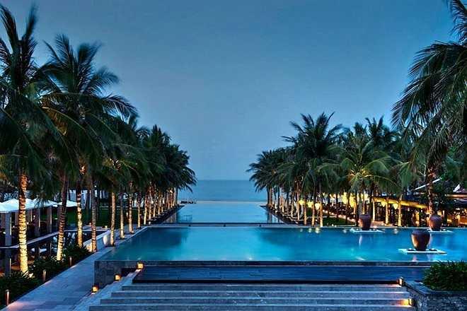 Nam Hải, resort tốt nhất thế giới: Chuyên mục Du lịch của CNN đã bình chọn những Resort tốt nhất thế giới khu vực Châu Á, và resort Nam Hải ở Hội An  vinh dự có mặt trong danh sách này - Ảnh: Nam Hải resort