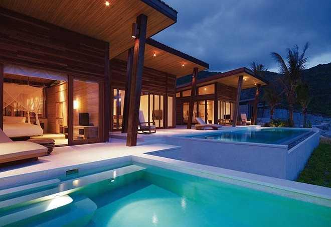 Six Senses, công trình xây dựng và thiết kế xuất sắc nhất thế giới: Năm 2010, khu nghỉ dưỡng Six Senses đã đoạt giải Công trình xây dựng và thiết kế xuất sắc nhất thế giới dành cho khách sạn dạng nhỏ tại giải thưởng International Commercial Property Awards 2010 do kênh truyền hình Bloomberg (Mỹ) tài trợ - Ảnh: dulichcondao