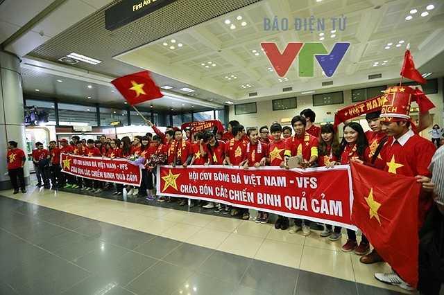Người hâm mộ Việt Nam hoàn toàn bị chinh phục bởi màn trình diễn của thầy trò Miura(Ảnh: VTV)