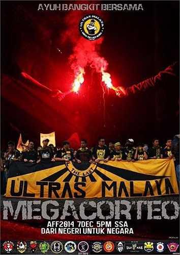 Những hội nhóm Ultras Malaya được tổ chức rất chuyên nghiệp. Họ luôn sẵn sàng băng rôn, áp phích cổ động trước mỗi sự kiện.