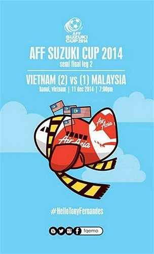 Các Ultras Malaysia đang hô hào nhau sang Việt Nam