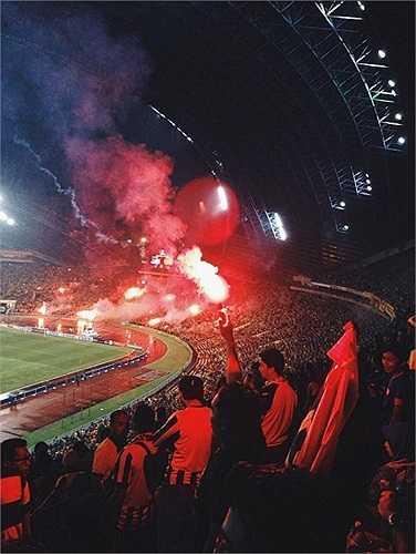 Các Ultras Malaysia gọi trận bán kết lượt đi là đêm không thể nào quên