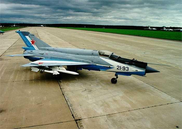 Chiến cơ MiG-21 nhìn từ trên cao