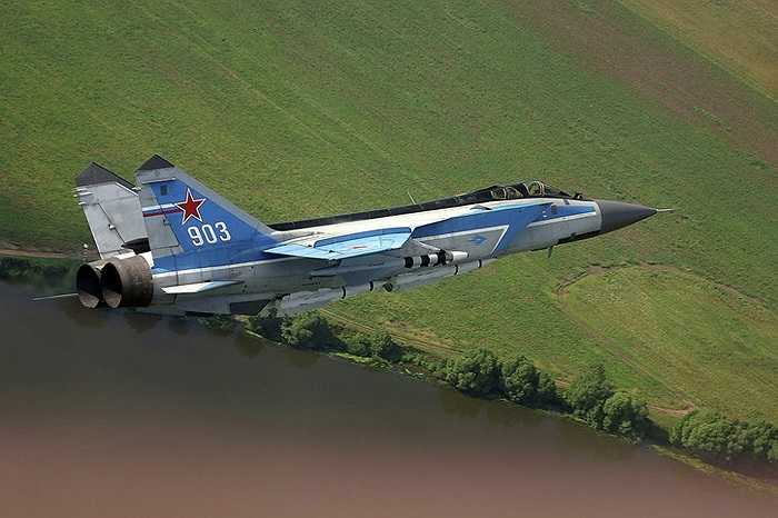 Chiến cơ MiG-31, máy bay thế hệ thứ 4 đầu tiên của Liên Xô