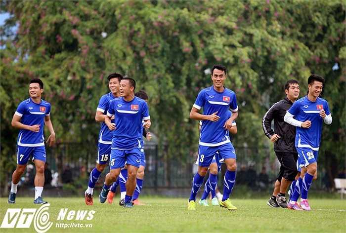 Hi vọng niềm vui của tuyển Việt Nam sẽ được kéo dài tới tận trận chung kết. (Ảnh: Quang Minh)