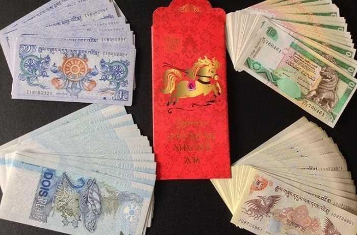 Không có hình con dê nhưng bộ tiền tứ linh 'Long - Ly – Quy –Phượng' tượng trưng cho quyền lực, may mắn, sức khỏe, sắc đẹp và sự vĩnh cửu cũng được cho là khá hot năm nay. Với quan niệm ứng dụng trong phong thủy, hóa giải điềm hung và chiêu mộ hiền tài, bộ tứ linh được rao bán với giá 200.000 đồng (4 tờ). Các tờ tiền này có xuất xứ từ các nước như Brazil, Malaysia và Buhtan.