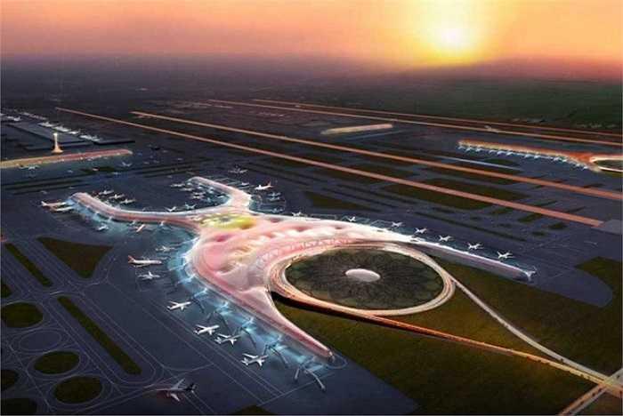 Sân bay Quốc tế mới ở Mexico (New Mexico International Airport)- Dự kiến hoàn thành vào năm 2020 và phục vụ 50 triệu khách/năm.  Sân bay được thiết kế theo hình chữ X xây tại phía đông của trung tâm thành phố Mexico với những bước đột phá về không gian và dịch vụ dựa trên sức mạnh của năng lượng tự nhiên để tạo môi trường thân thiện với con người.