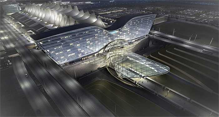 Sân bay Quốc tế Denver tại bang Colorado của Mỹ hiện tại đang tiếp tục được mở rộng và dần chuyển đổi thành một khu trung tâm mới kết nối cả về vật chất và tinh thần đến trung tâm thành phố Denver và các khu vực xung quanh.