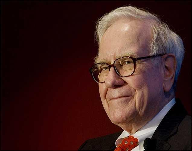 Tỷ phú Warrent Buffett là người kiếm được nhiều tiền thứ 2 thế giới, tổng tài sản tăng 13,5 tỷ USD so với năm ngoái.