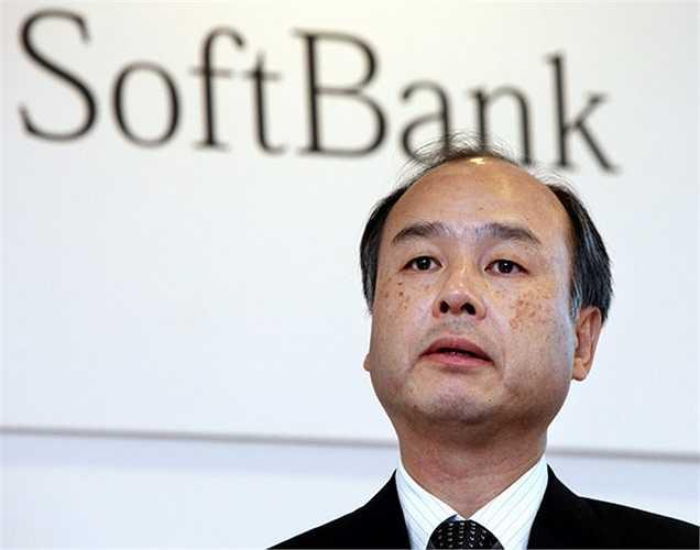 Tài sản của ông Masayoshi Son - người giàu nhất Nhật Bản – CEO của SoftBank giảm khoảng 6 tỷ USD trong năm nay