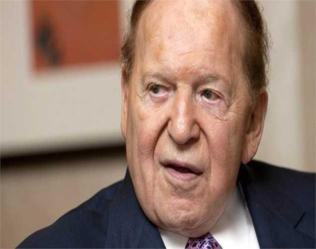 2014 là năm khó khăn đối với ông trùm casino Adelson – Giám đốc điều hành Tập đoàn Las Vegas Sands. Ông đã mất 5,2 tỷ USD trong năm vừa qua.