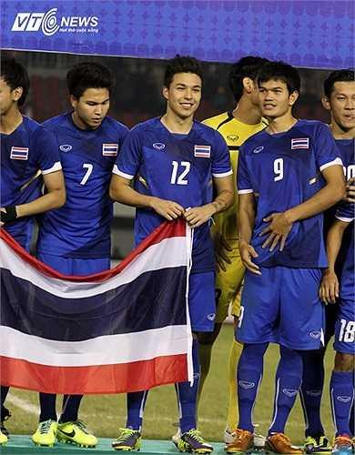 Charyl Chappuis có màn ra mắt đầu tiên trong màu áo U23 Thái Lan ở trận giao hữu với U23 Uganda hồi tháng 11.