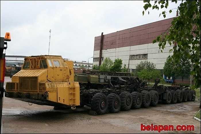 Khung gầm đã được gửi đến Baikonur để thử nghiệm, nơi mà câu chuyện ngắn ngủi về nó kết thúc. Sau đó dự án đã bị hủy bỏ và những chiếc xe bị rơi vào lãng quên.
