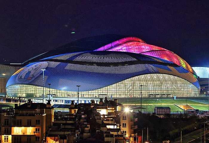 Sân trung tâm của Olympic mùa đông Sochi là địa điểm tổ chức các môn hockey trên băng. Với sức chứa 12.000 chỗ, công trình này được rải một lớp sỏi mịn và thiết kế khá giống với một quả trứng khổng lồ.