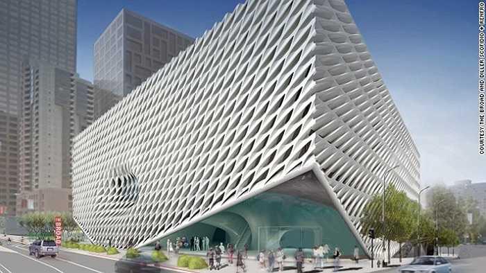 Khách sạn mới, cửa hàng và nhà hàng mới đang mọc lên nhiều ở trung tâm thành phố Los Angeles (Mỹ). Bảo tàng tổ ong cũng sẽ mở cửa trong năm tới.