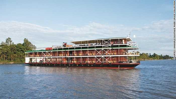 Vùng sông Mekong và sông Irrawaddy sẽ đón hàng ngàn du thuyền vào năm 2015. Đây là con sông huyết mạch chảy qua Myanmar, Lào, Campuchia, Việt Nam.