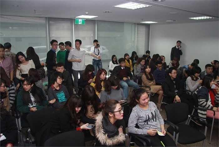 Sự kiện thu hút sự chú ý của đông đảo khách mời.