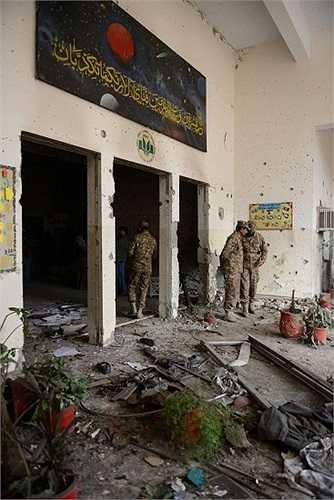 Ngôi trường bị tấn công là một trong 146 trường thuộc hệ thống trường học quân đội công, học sinh của trường này có độ tuổi 10-18.