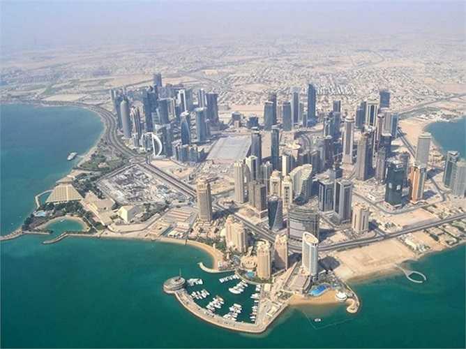 2. Doha, Qatar. Tài nguyên dầu mỏ và khí đốt giúp Qatar trở thành một trong những quốc gia giàu nhất thế giới và thủ đô Doha của nước này là một trong những thành phố đẹp nhất thế giới.