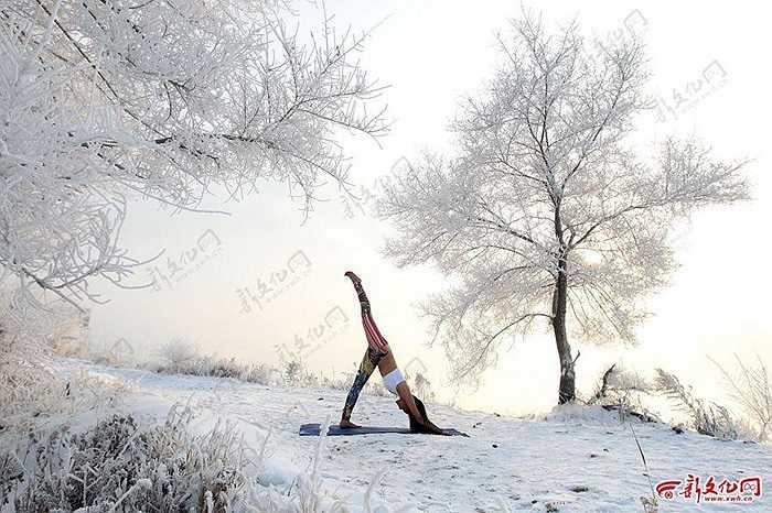 Cô gái 26 tuổi đã học môn Yoga 6 năm