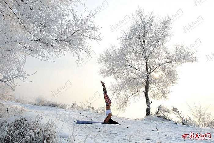 Cô gái 26 tuổi còn là chủ của một trung tâm dạy Yoga ở Trung Quốc