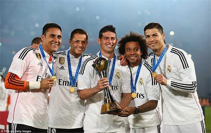 Chiến thắng này khép lại một năm đáng nhớ với thầy trò Carlo Ancelotti