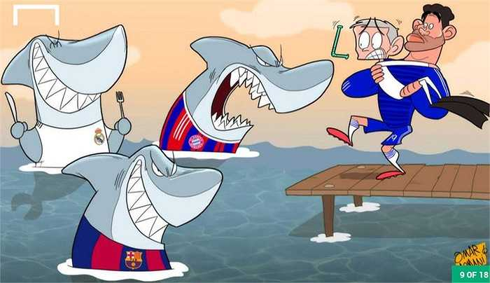 Chelsea e sợ những đối thủ tiếp theo ở Champions League