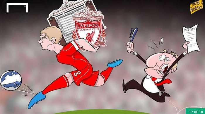 Liverpool mong muốn ký tiếp hợp đồng với Gerrard