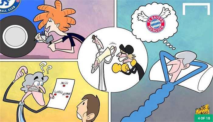 Kết quả bốc thăm vòng knock-out Champions League có rất nhiều trận đối đầu hấp dẫn