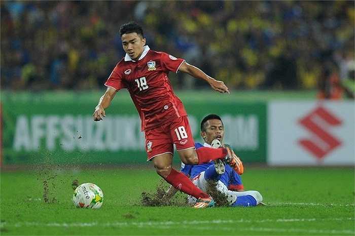 'Messi Thái' câm lặng suốt hơn 70 phút thi đấu