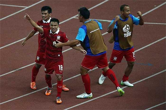 Chanathip Songkrasin, người được mệnh danh là 'Messi Thái Lan', đã vượt qua Công Vinh, Hoàng Thịnh để trở thành cầu thủ hay nhất AFF Cup 2014.