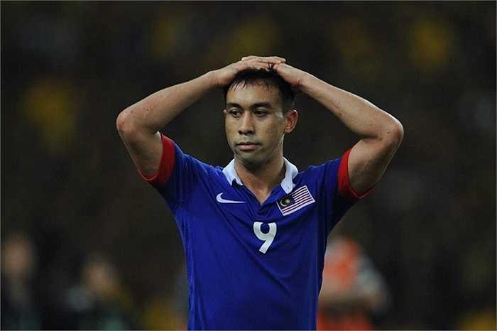 Nỗi xót xa của cầu thủ Malaysia