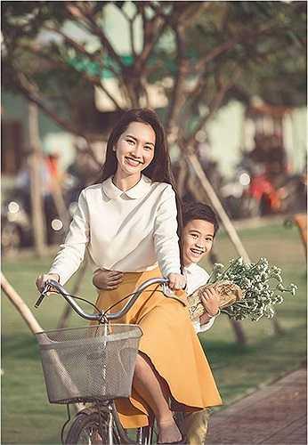Năm 2014, Kim Hiền đã tiến thêm một bước đến với anh chàng Việt kiều Andy.