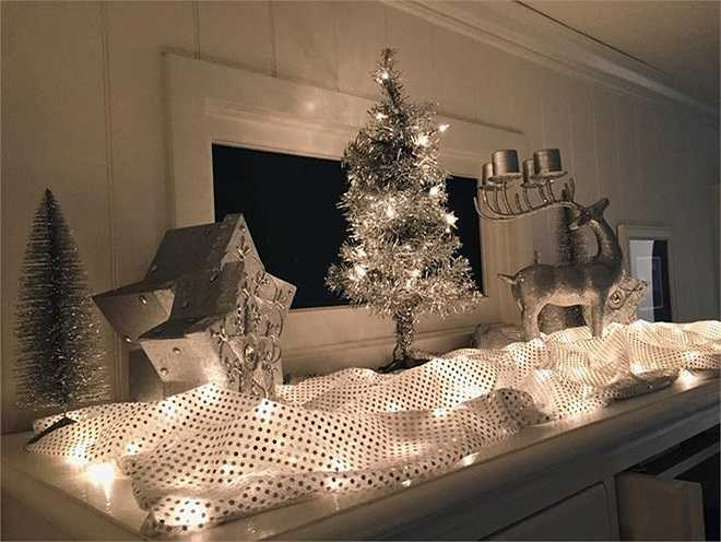 Không khí Noel được gia đình cô trang trí khắp ngôi nhà.  Theo Zing