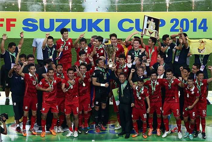 Đây là chức vô địch sau 12 năm chờ đợi của bóng đá Thái Lan.
