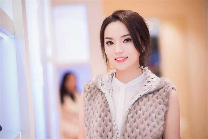 Nhan sắc Kỳ Duyên ngày càng xinh đẹp sau cuộc thi Hoa hậu Việt Nam 2014.