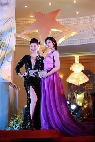 Pha Lê và Trương Quỳnh Anh.