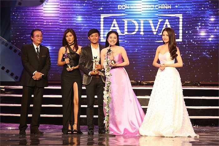 Quý Bình giành giải Nam diễn viên truyền hình xuất sắc nhất. Vân Trang và Kim Tuyến cùng nhau nhận giải Nữ diễn viên truyền hình xuất sắc nhất.
