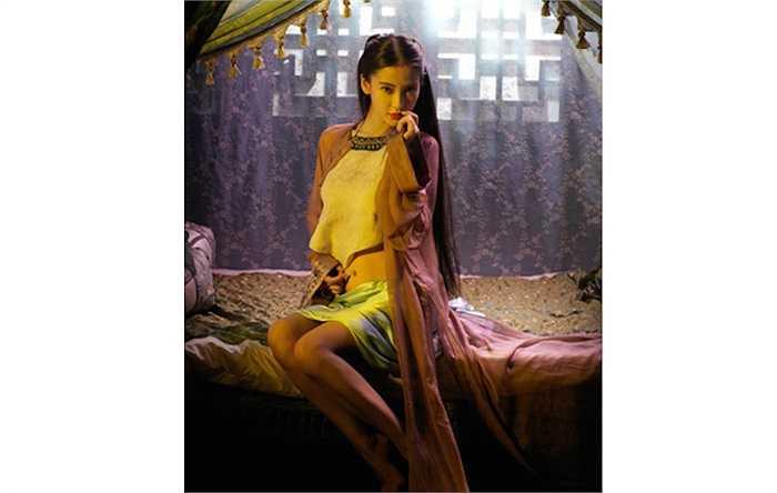Ngoại hình chính là yếu tố giúp Angelababy được giao cho vai diễn Tâm Lan trong phim 'Hoàng Phi Hồng: Bí ẩn một huyền thoại'