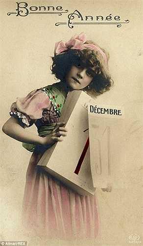Bức thiệp Giáng sinh dịu dàng được gửi từ Ai Cập năm 1910