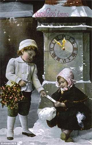 Bưu thiếp mừng Giáng sinh