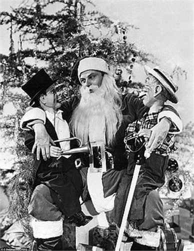 Bức ảnh chụp mừng Giáng sinh năm 1939