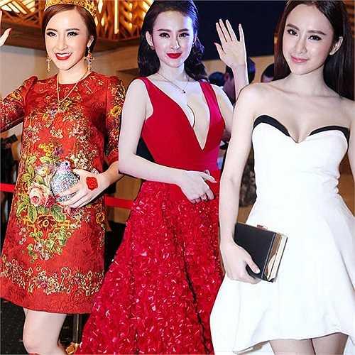 Angela Phương Trinh: Xứng đáng được kể đến đầu tiên trong danh sách 'Các nữ hoàng thảm đỏ của năm 2014'.