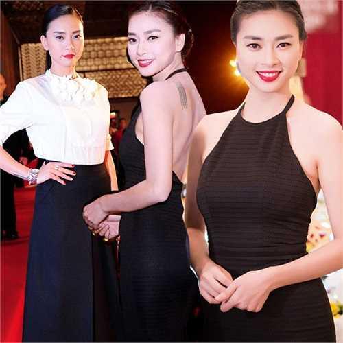 Phong độ thời trang thảm đỏ của Ngô Thanh Vân luôn ổn định.