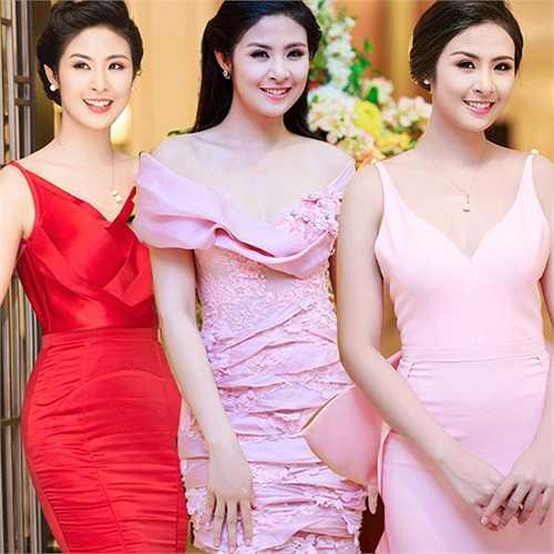 Ngọc Hân sở hữu phong cách thời trang ngày càng tiến bộ.