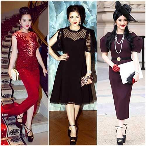 Cựu đại sứ du lịch có gu thời trang tiến bộ vượt bậc trong năm nay.