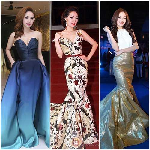 Năm nay, nữ ca sĩ Minh Hằng rất chăm chút cho thời trang xuất hiện trên thảm đỏ.