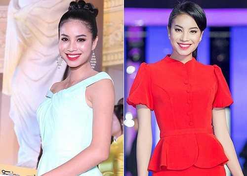 Top 10 Hoa hậu Việt Nam 2014, Phạm Hương, lúc nào cũng rạng ngời