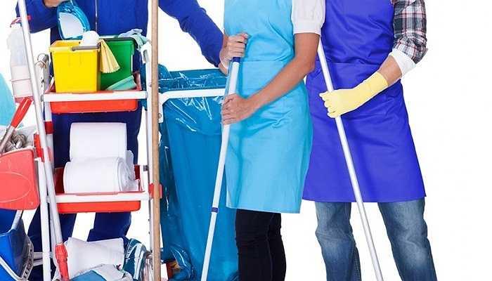 Nhân viên vệ sinh: 9%. Đây là ngành nghề 'làm không đủ ăn' nhưng lại không thực sự bận rộn.